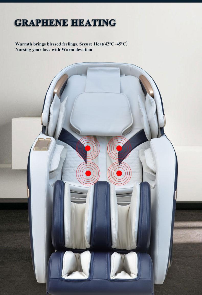 3D Zero Gravity Foot Thailand Massage Chair with Money  17