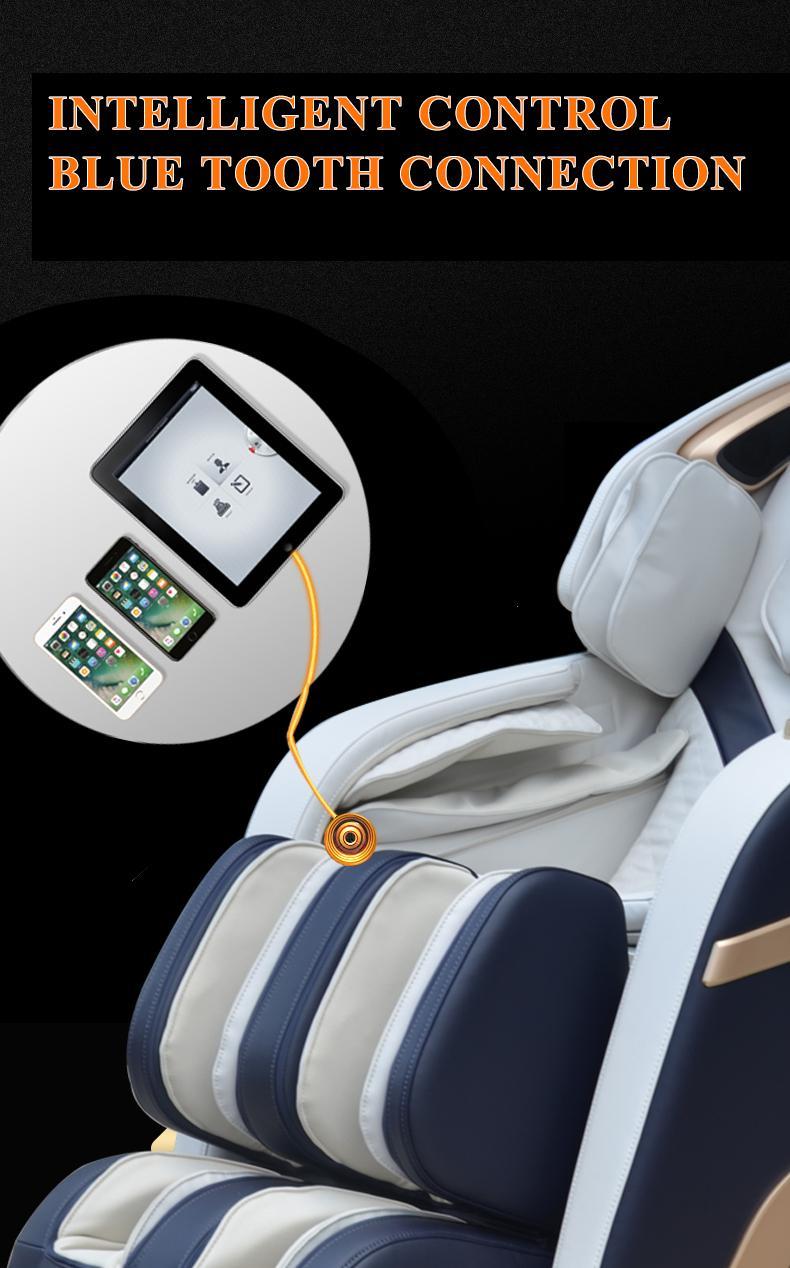 3D Zero Gravity Foot Thailand Massage Chair with Money  19