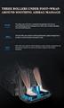 Super Deluxe 4D Zero Gravity Recliner Foot Massage Chair