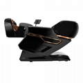 Plastic Cover 3D Deluxe Full Body Rollers Zero Gravity 4D Massager Chairs  3