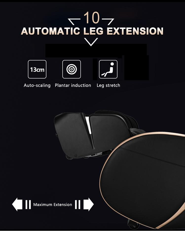 Popular Beauty Full Body Airbags Zero Gravity Recliner Massage Chair  10