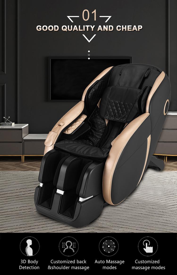 Popular Beauty Full Body Airbags Zero Gravity Recliner Massage Chair  14