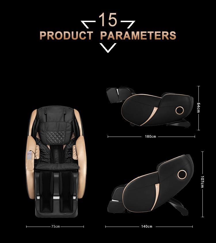 Popular Beauty Full Body Airbags Zero Gravity Recliner Massage Chair  16