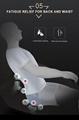 Popular Beauty Full Body Airbags Zero Gravity Recliner Massage Chair  17