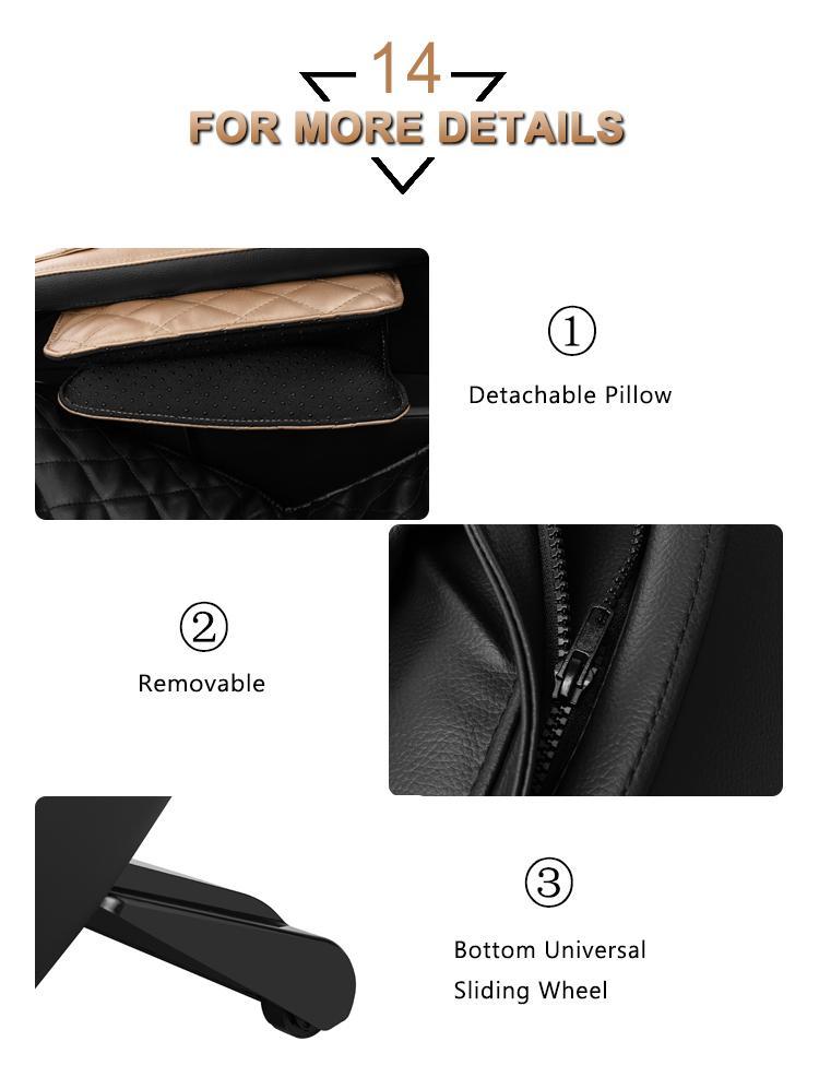 Popular Beauty Full Body Airbags Zero Gravity Recliner Massage Chair  19