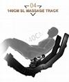 Popular Beauty Full Body Airbags Zero Gravity Recliner Massage Chair  20