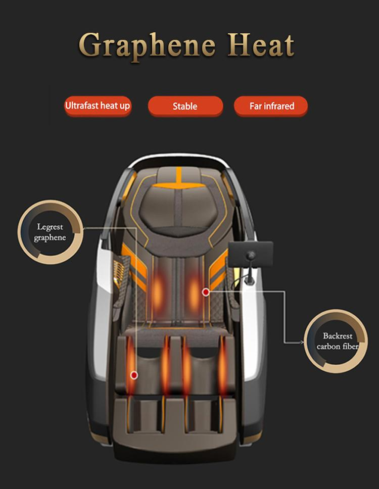 Healthcare Salon Electric Foot Pedicure Massage Chair Zero Gravity 9