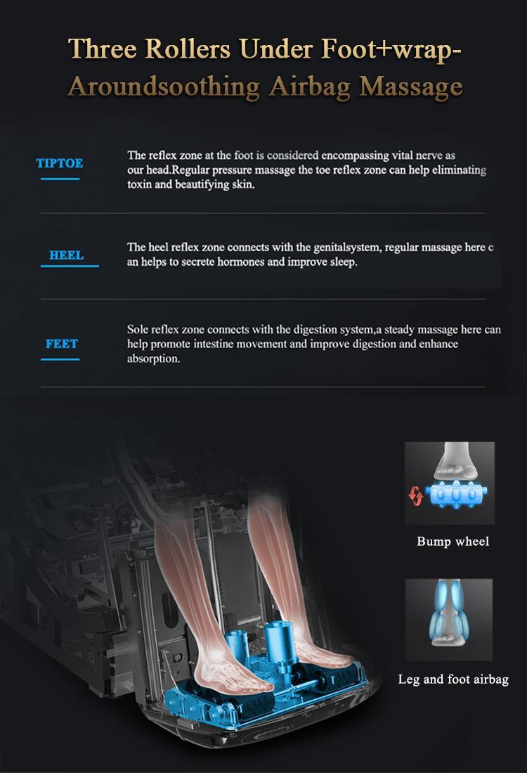 Healthcare Salon Electric Foot Pedicure Massage Chair Zero Gravity 11