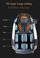 Healthcare Salon Electric Foot Pedicure Massage Chair Zero Gravity 12
