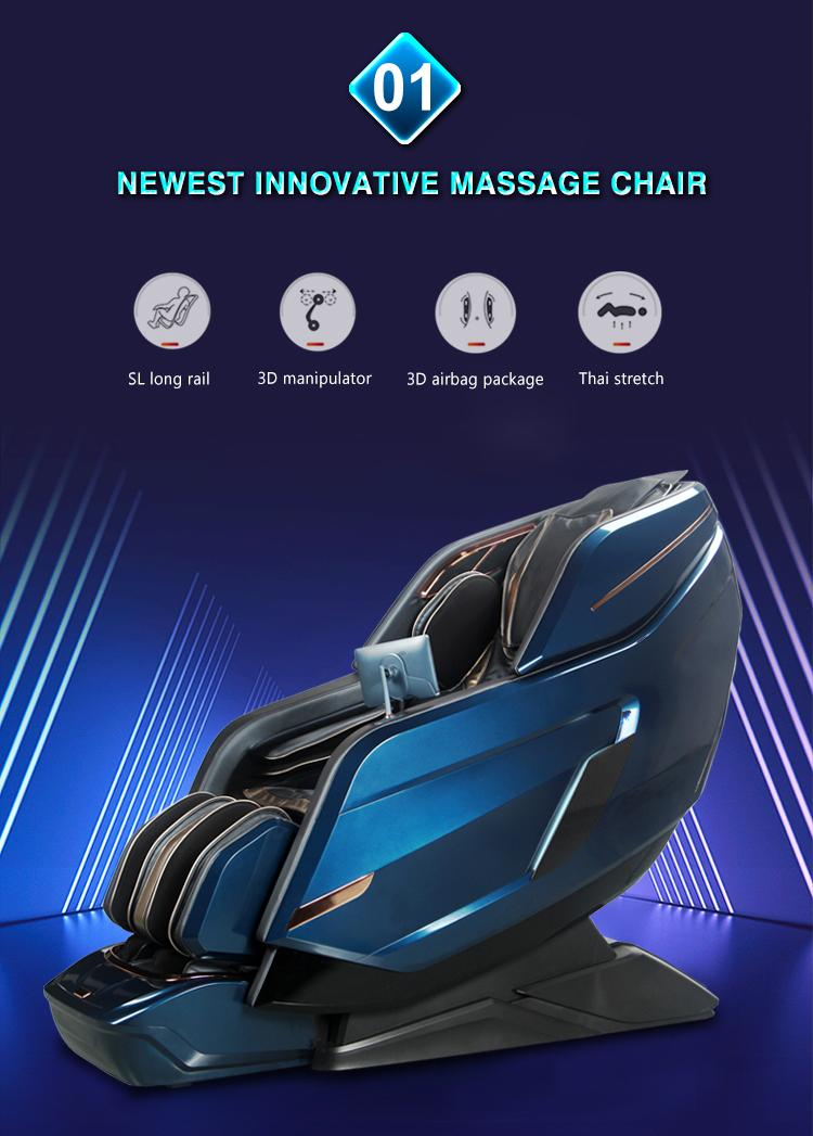 Shiatsu Zero Gravity Heated Foot Massage Chair 10