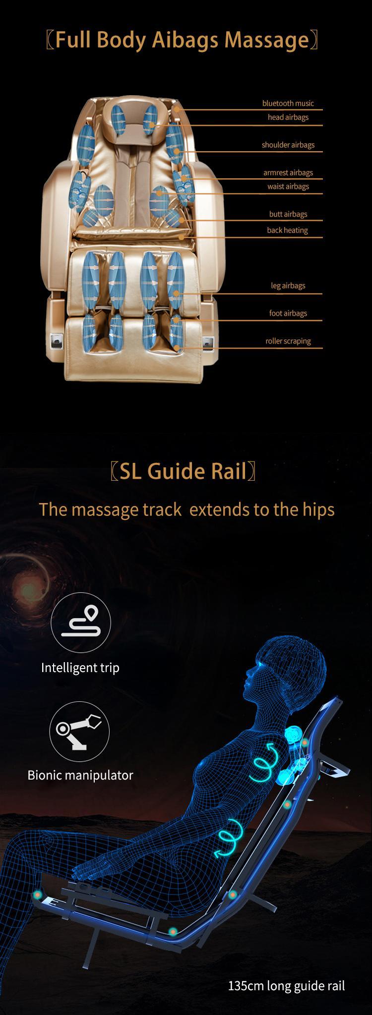 New Design Zero Gravity Virtual Reality Armchair Massage MS-878 9