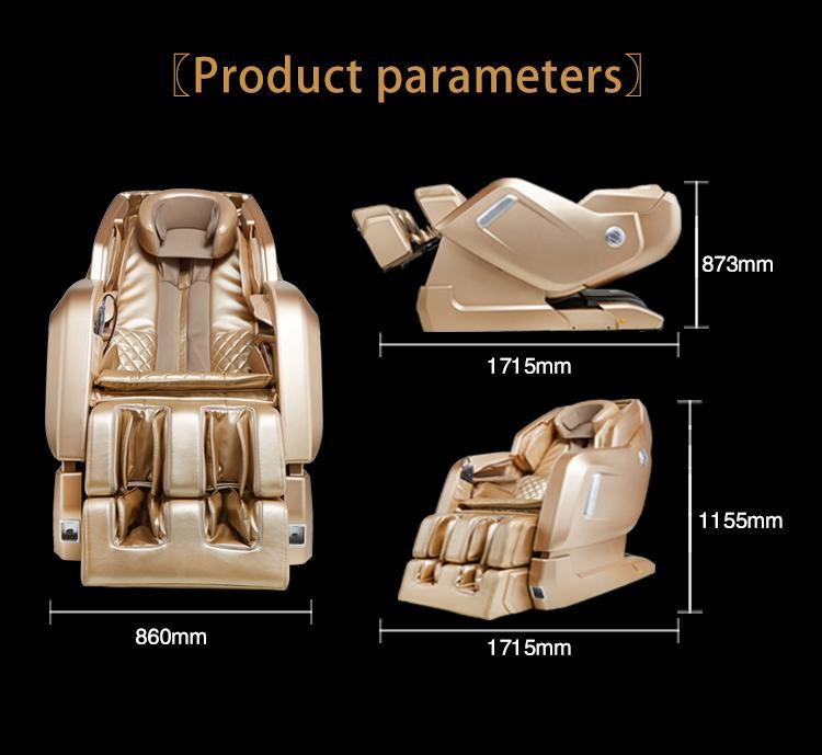 New Design Zero Gravity Virtual Reality Armchair Massage MS-878 11