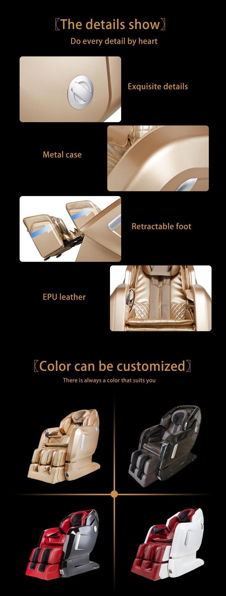 New Design Zero Gravity Virtual Reality Armchair Massage MS-878 12