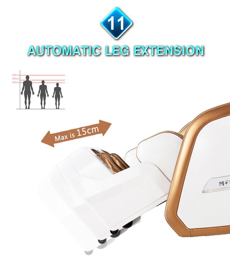 Full Body Recliner Shiatsu Massage Chair Zero Gravity 12