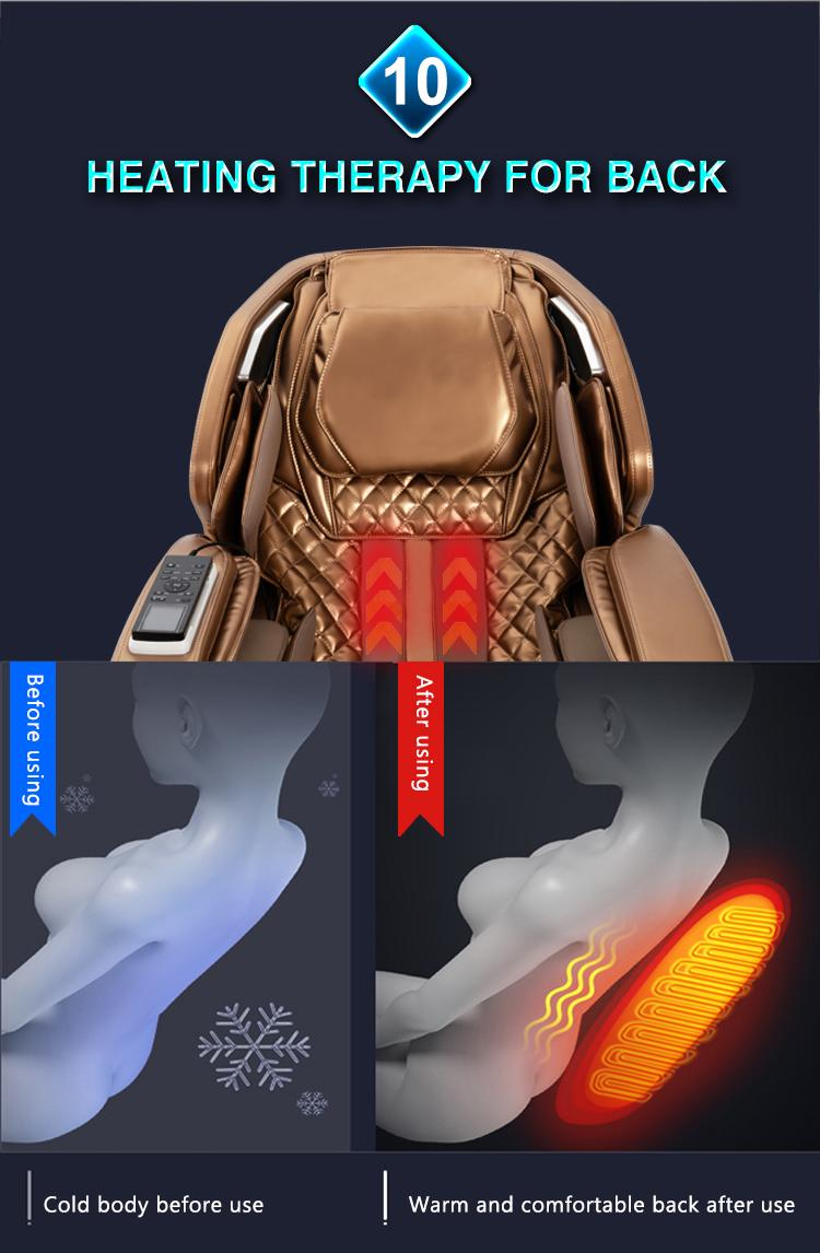 Full Body Recliner Shiatsu Massage Chair Zero Gravity 13