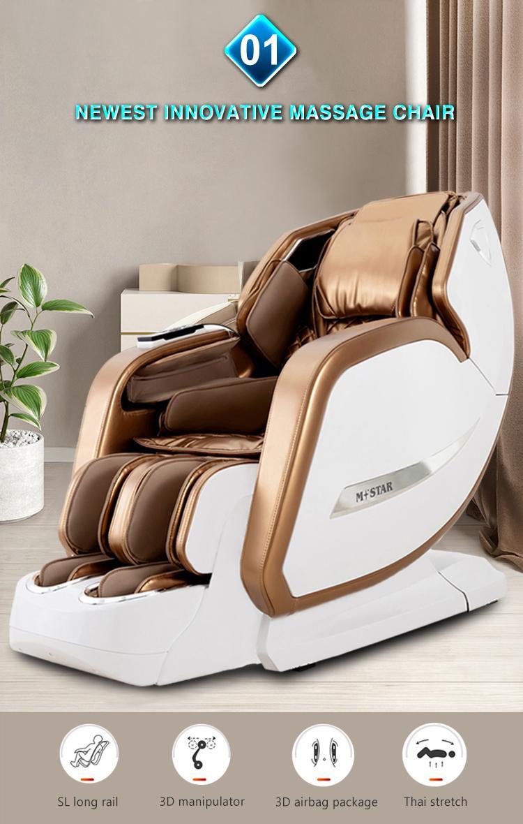 Full Body Recliner Shiatsu Massage Chair Zero Gravity 7