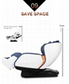 Deluxe multifunctional Air Bag Body Care Massage Chair With Foot Rollers 10