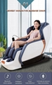 Deluxe multifunctional Air Bag Body Care Massage Chair With Foot Rollers