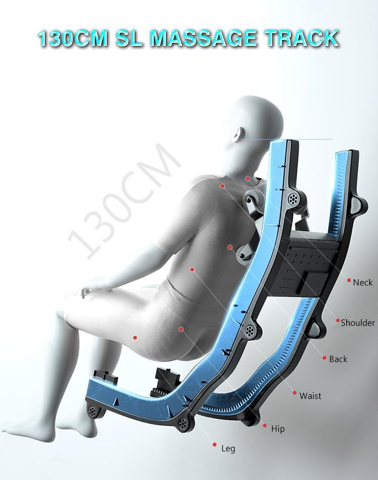 Best 5D Shiatsu Office Massage Chair Foot Rollers 8