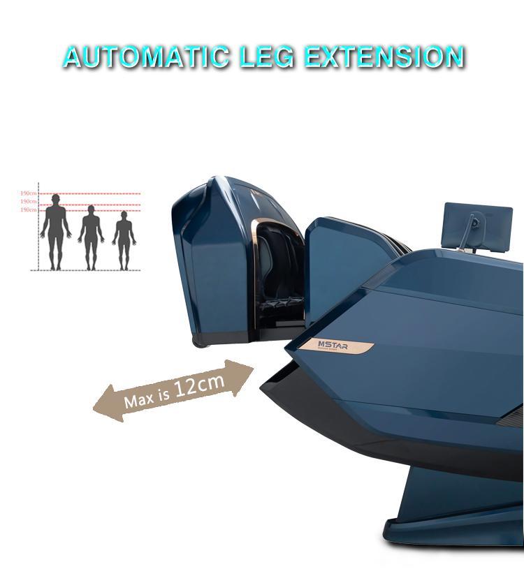 Best 5D Shiatsu Office Massage Chair Foot Rollers 11