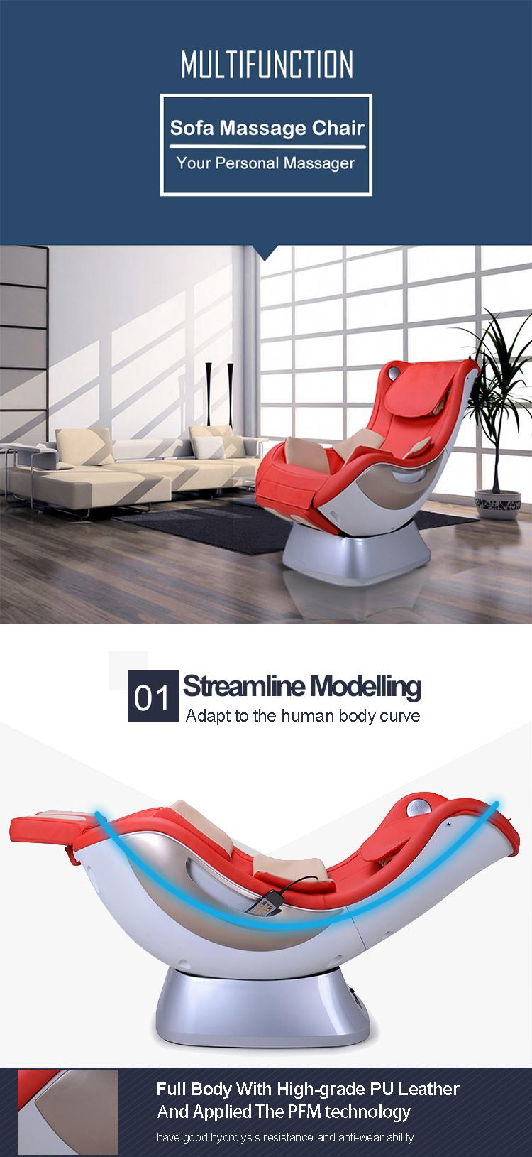 Healthcare Irest Portable Rocking Music Relaxing Massage Chair 5