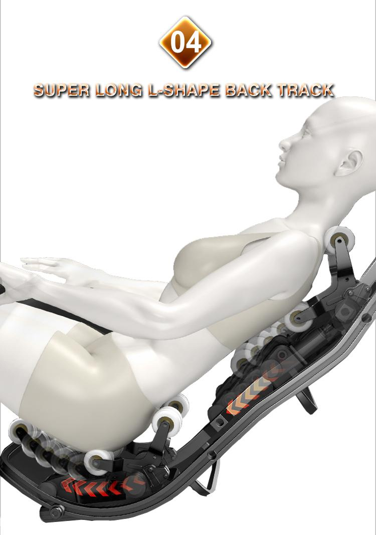 Wholesale Electric 3D Zero Gravity Massage Chair with Air Pressure Massage 9