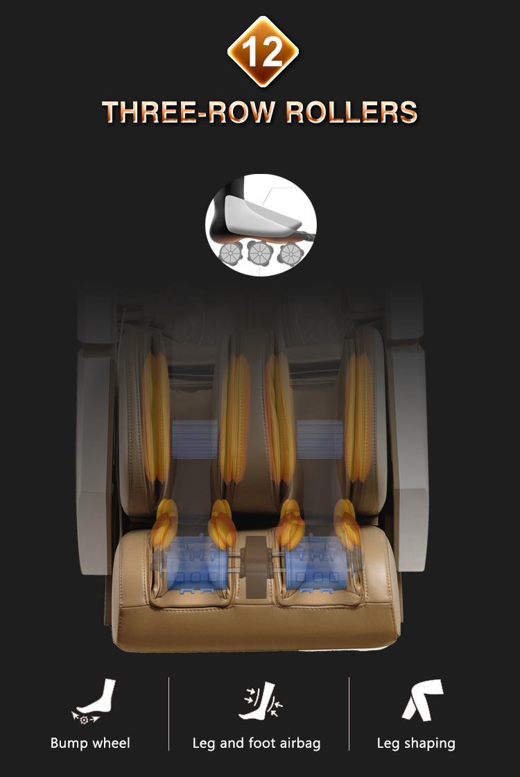 Wholesale Electric 3D Zero Gravity Massage Chair with Air Pressure Massage 14