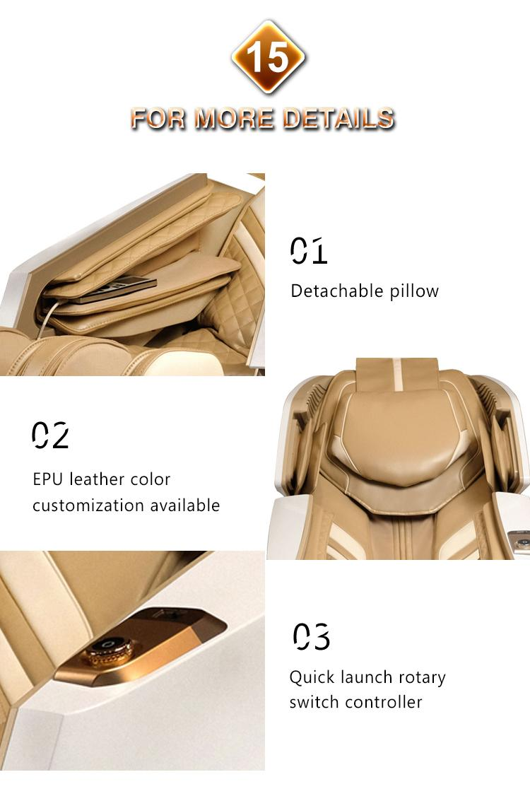 Wholesale Electric 3D Zero Gravity Massage Chair with Air Pressure Massage 19