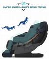Full Leather Zero Gravity Recliner Massage Chair Parts 7