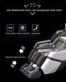 4D Innovation Full Body Kneading Tapping Massage Chair With Heat Therapy 10