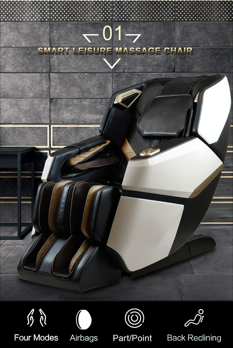 4D Innovation Full Body Kneading Tapping Massage Chair With Heat Therapy 19
