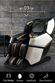 4D Innovation Full Body Kneading Tapping Massage Chair With Heat Therapy