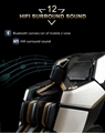Top Quality Electric Mini Back Stretch Air Pressure Massage Chair 7