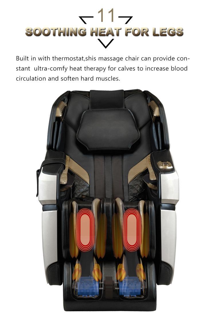 Top Quality Electric Mini Back Stretch Air Pressure Massage Chair 9