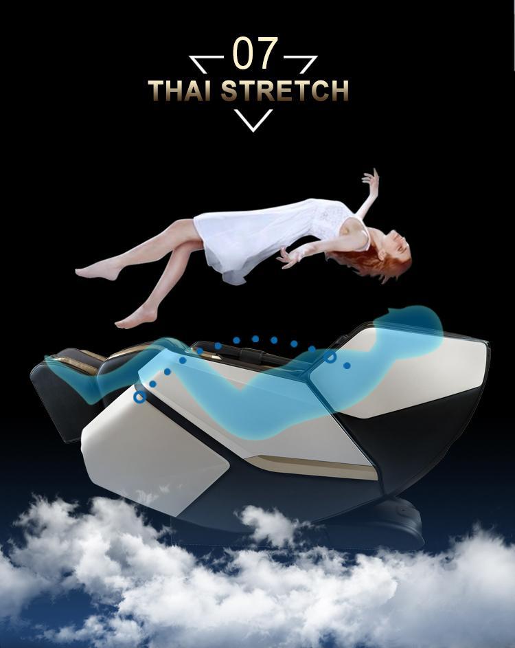 Top Quality Electric Mini Back Stretch Air Pressure Massage Chair 12