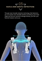 Top Quality Electric Mini Back Stretch Air Pressure Massage Chair 14