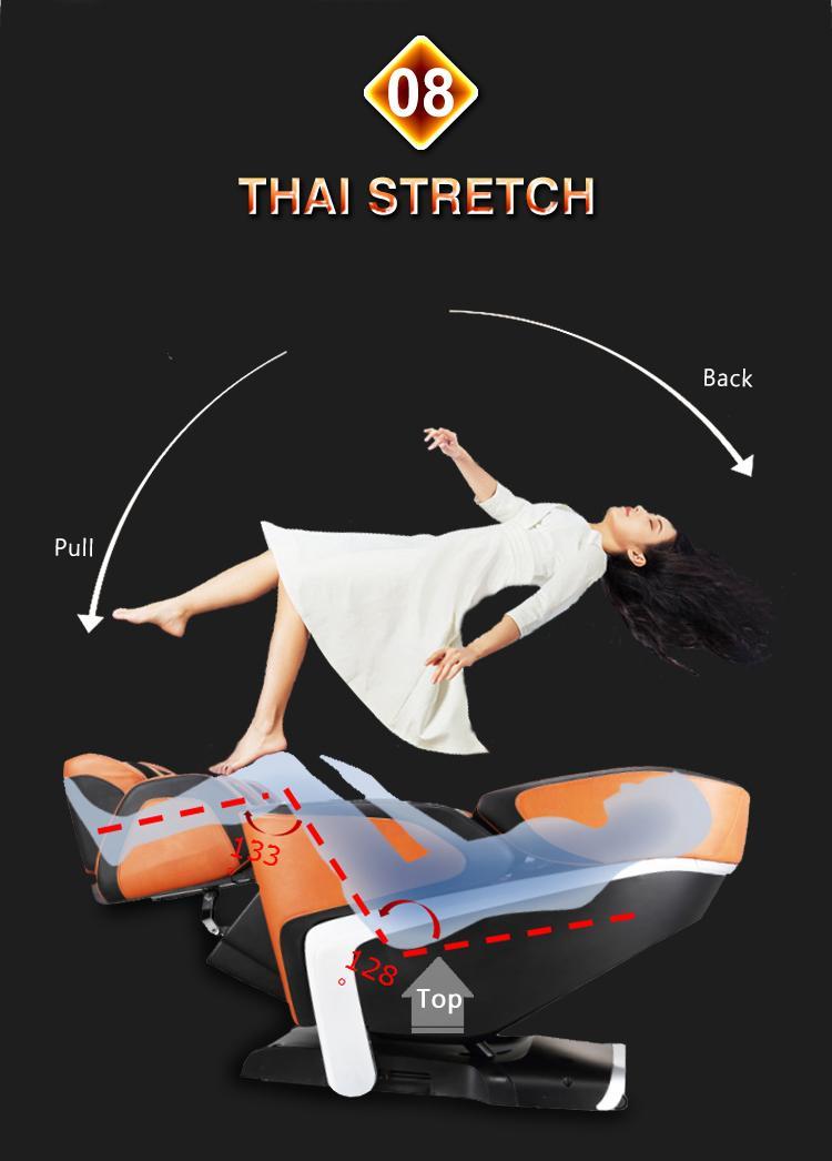 Luxury Shiatsu OEM ODM Massage Chair Electric Chair  11
