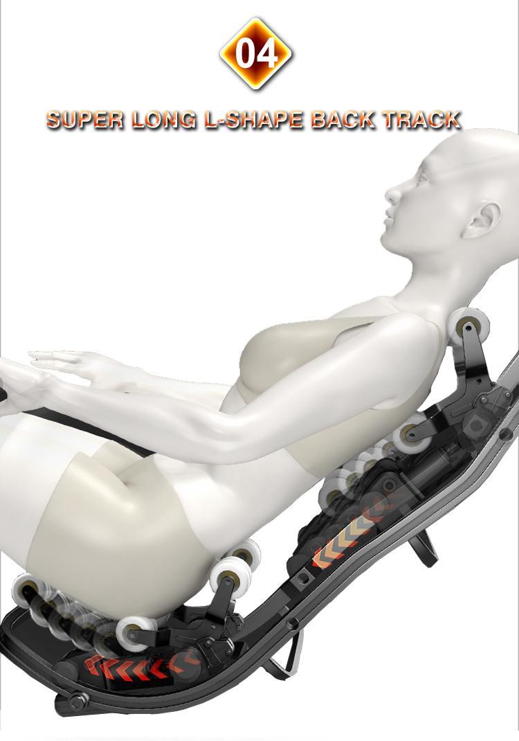 Luxury Shiatsu OEM ODM Massage Chair Electric Chair  16