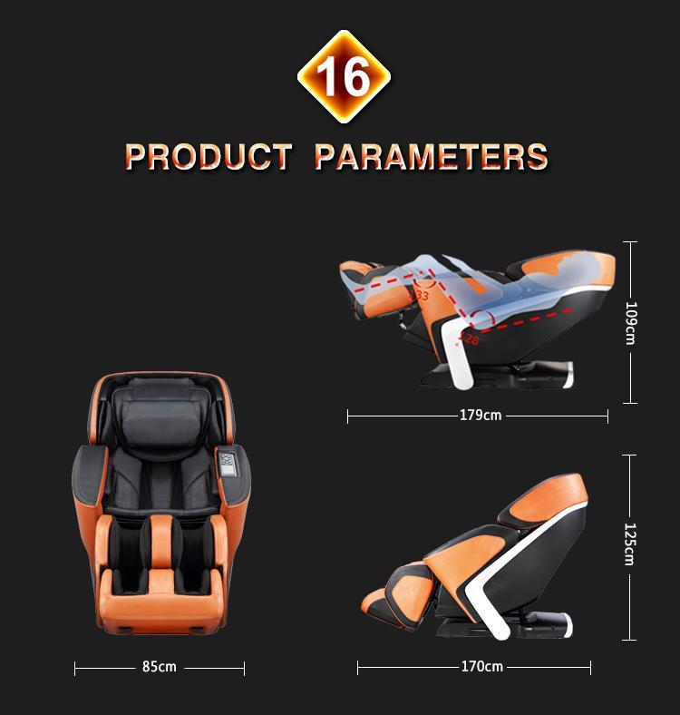 Luxury Shiatsu OEM ODM Massage Chair Electric Chair  18