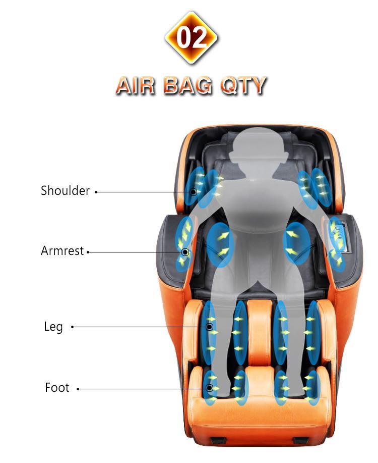 Luxury Shiatsu OEM ODM Massage Chair Electric Chair  19