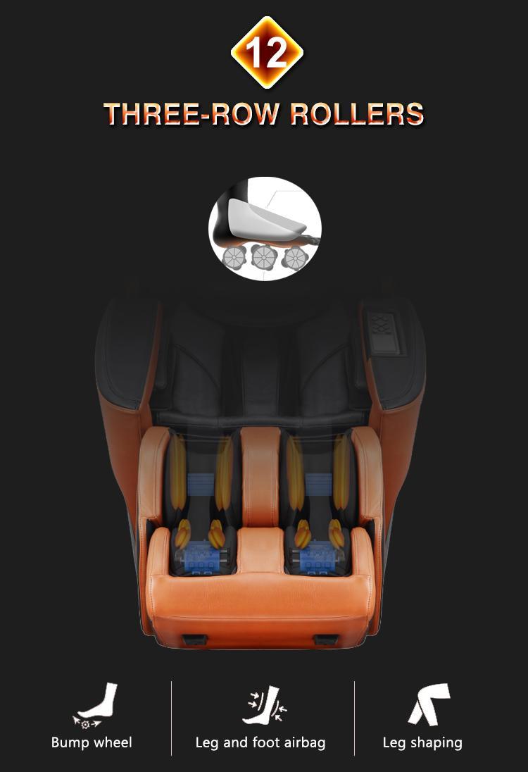 Top End Factory 4D Electric Shiatsu Massage Chair 8