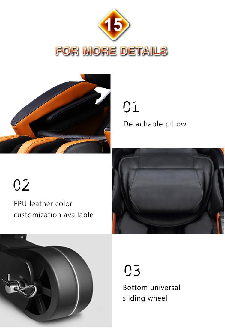 Top End Factory 4D Electric Shiatsu Massage Chair 15