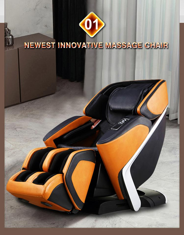 Top End Factory 4D Electric Shiatsu Massage Chair 17