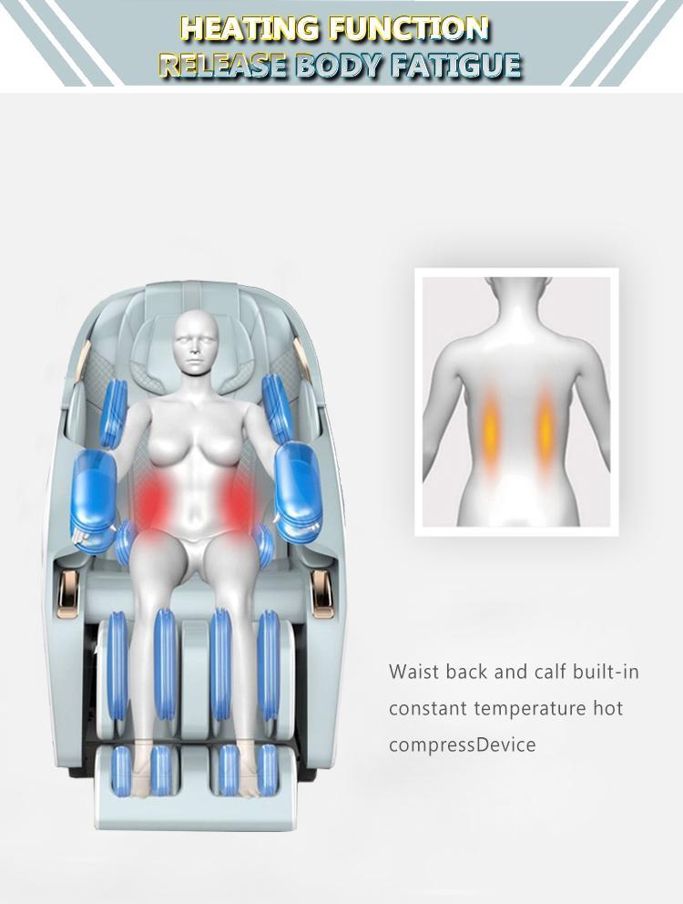 2021 New Arrival Space Capsule 3D Zero Gravity Massage Chair 10