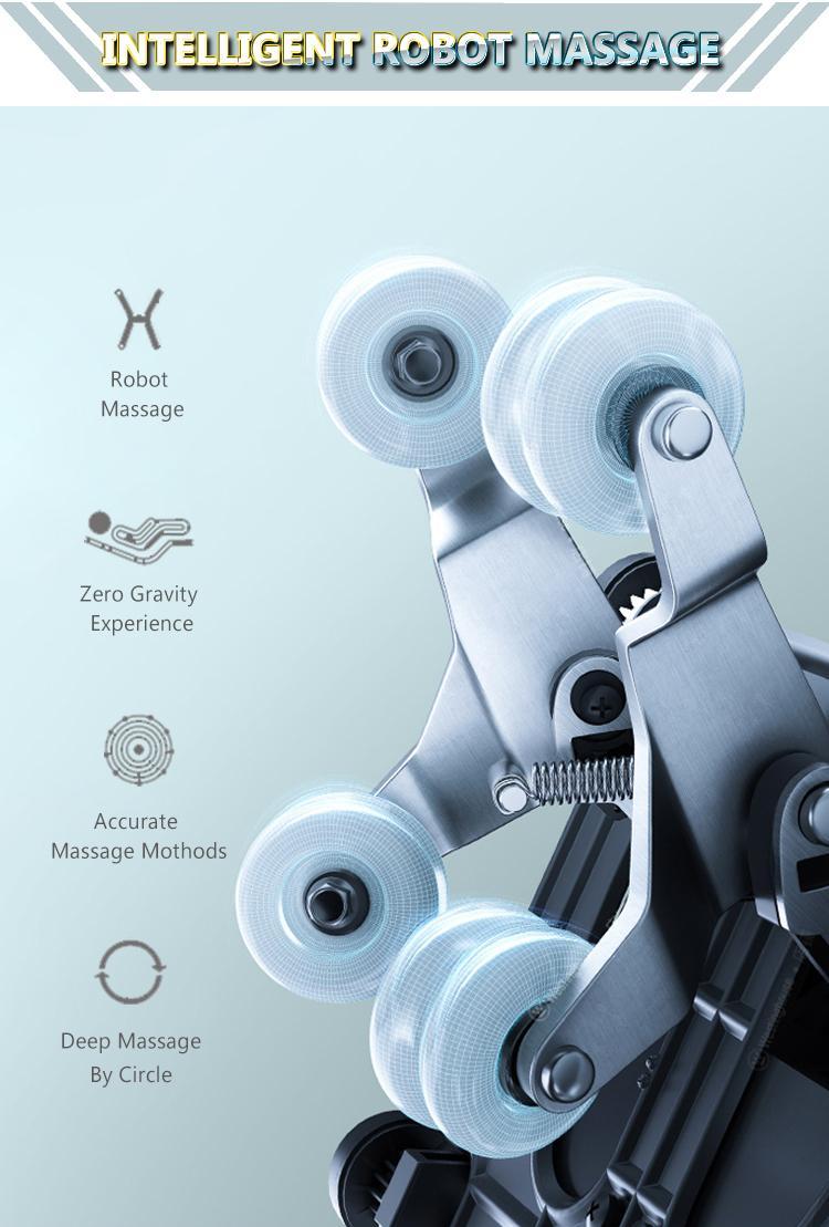 2021 New Arrival Space Capsule 3D Zero Gravity Massage Chair 15