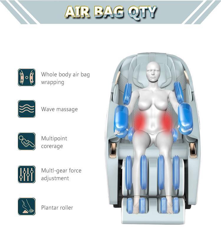 2021 New Arrival Space Capsule 3D Zero Gravity Massage Chair 16