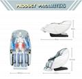 2021 New Arrival Space Capsule 3D Zero Gravity Massage Chair 18
