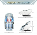 2021 New Arrival Space Capsule 3D Zero Gravity Massage Chair
