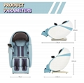 Wholesale 3D Air Bags Recliner Rocking Massage Chair  With Foot Rollers