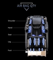 Commercial Full Body USB Rocking Massage Chair Price With Air Bags Squeezing